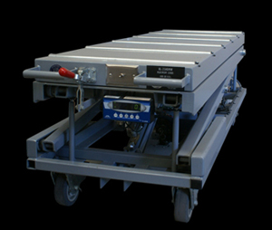 crematory automatic lifting table